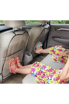 CMT Oto Araç Araba Içi 2 Adet Koltuk Arkası Örtü Koruyucu Kılıf Koltuk Kılıfı Şeffaf 1