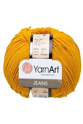 Yarnart Jeans Pamuk El Örgü Ipi Ipliği Yünü Renk Kodu:84 0