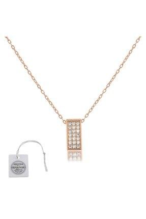 Swarovski Türker Jewelry Swr0071 Zirkonia Taşlı Bayan Kolye 0