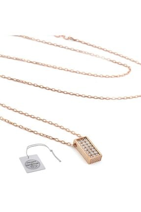 Swarovski Türker Jewelry Swr0071 Zirkonia Taşlı Bayan Kolye 1