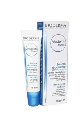 Bioderma Atoderm Levres Lip Balm 15ml   Dudak Bakımı 0