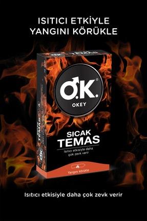Okey Sıcak Temas 40'lı Prezervatif 2