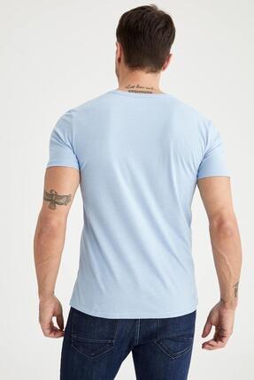 Defacto Slim Fit V Yaka Basic Tişört 3