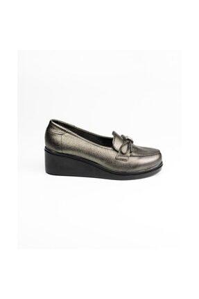 Polaris Gümüş Kadın Günlük Ayakkabı 0