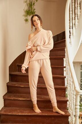 Louren H115 Kayık Yaka Ev Kıyafeti 1