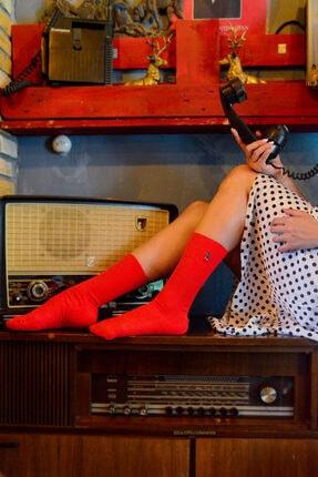 Neşeli Çoraplar Unisex Renkli 10'lu Nakışlı Soket Çorap Set 1