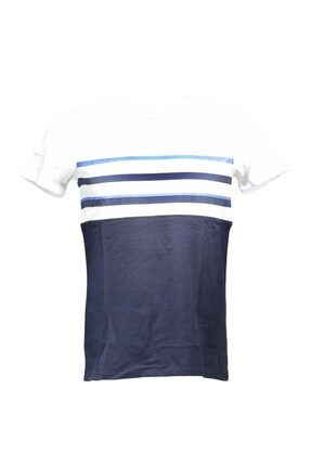 Collezione Lacivert Erkek Lacivert Spor Regular Kısa Kol T-shirt 0