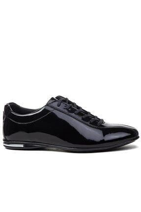 Erkek Siyah Rugan Ayakkabı 845 RUGAN