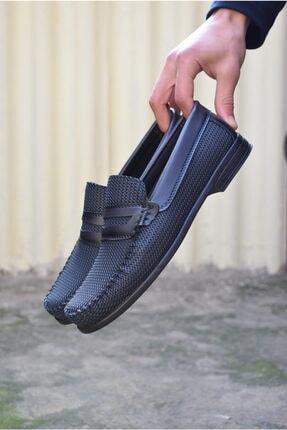 ALBİDÜNYA Erkek Lacivert Ortopedik Tabanlı Baskı Detay Modelli Günlük Ayakkabı 3