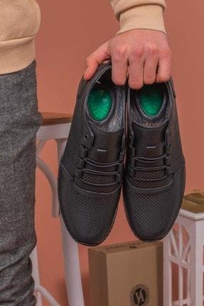 Yağlıoğlu Kundura Erkek Hakiki Deri Topuk Jelli Çarık Ayakkabısı 1