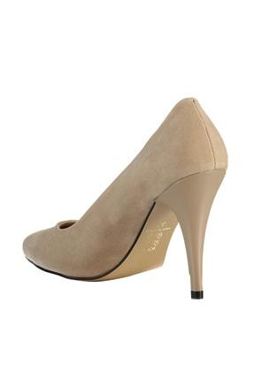 Soho Exclusive Ten Süet Kadın Klasik Topuklu Ayakkabı 15731 4