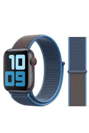 Zore Apple Watch 1 2 3 4 5 Serisi 42mm Kordon Spor Loop Hasır Cırt Cırtlı Kayış 0