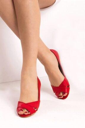 Fox Shoes Kırmızı Kadın Sandalet B726109909 0