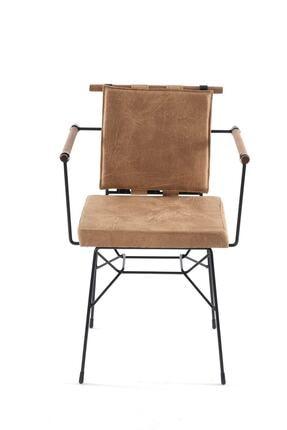Sesa Home Ahşap Kollu Penyez Sandalye Cappuccino 0
