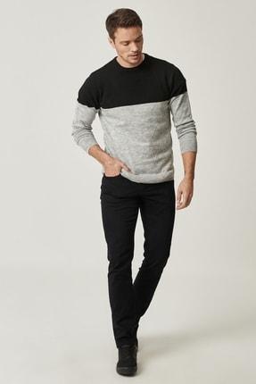 Altınyıldız Classics Erkek Siyah Kanvas Slim Fit Dar Kesim 5 Cep Pantolon 0