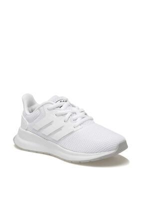 adidas RUNFALCON K Beyaz Unisex Çocuk Koşu Ayakkabısı 100482038 0