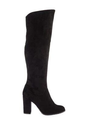 Fox Shoes Siyah Kadın Çizme A654018002 2