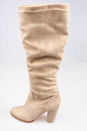 Fox Shoes Vizon Kadın Çizme G572443602 3