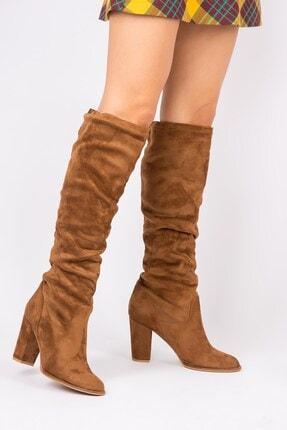Fox Shoes Taba Kadın Çizme G572443602 1