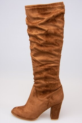 Fox Shoes Taba Kadın Çizme G572443602 2