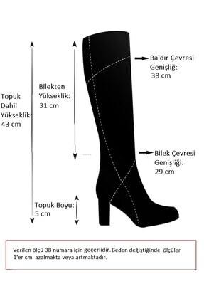 Fox Shoes Bej Kadın Çizme A654252709 2