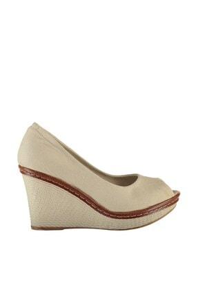 Fox Shoes Bej Kadın Dolgu 9674040305 2