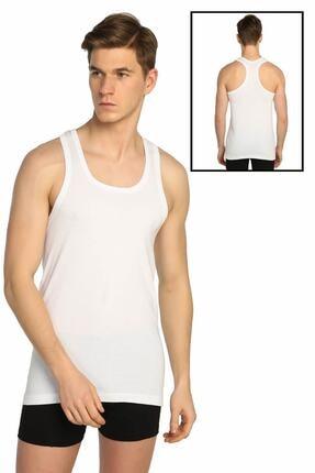 Tutku Erkek Beyaz Ribana Spor Atlet Elf568t0118ccm 0