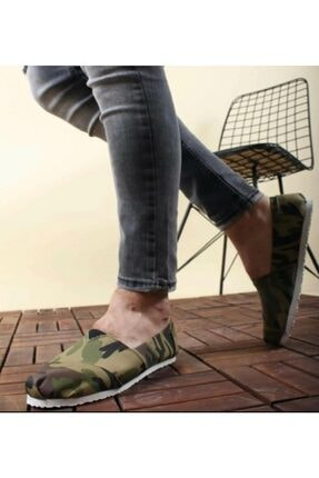 Unisex Kamuflaj Babet Ayakkabı kamflaj babet