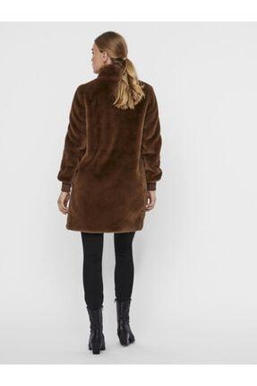 Vero Moda Kadın Kahverengi Kaban 3