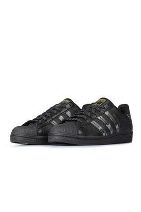 adidas Unisex Siyah Superstar Sneaker 1