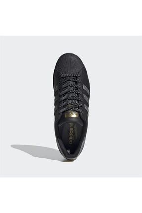 adidas Unisex Siyah Superstar Sneaker 2