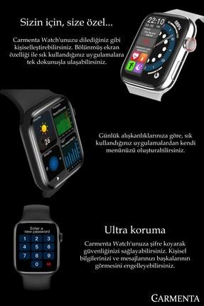 Carmenta Watch X7 Milanese Multifonksiyon Akıllı Saat - Bilek Sensörlü , Ios Ve Android Uyumlu 2