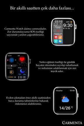 Carmenta Watch X7 Milanese Multifonksiyon Akıllı Saat - Bilek Sensörlü , Ios Ve Android Uyumlu 3
