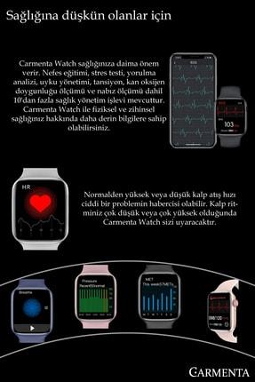 Carmenta Watch X7 Milanese Multifonksiyon Akıllı Saat - Bilek Sensörlü , Ios Ve Android Uyumlu 4