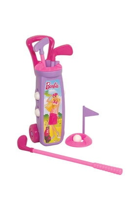Sanalmarketi Kutuda Barbie Golf Arabası 0