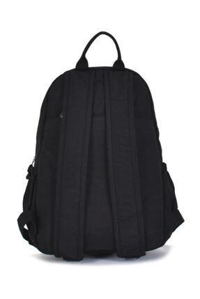 Smart Bags Kadın Siyah Krinkıl Kumaş Sırt Çantası 1187 1