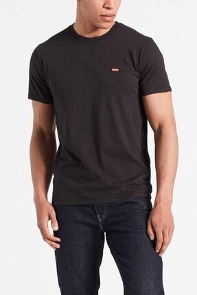 Levi's Erkek Siyah Pamuklu T-Shirt 0