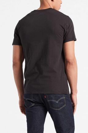 Levi's Erkek Siyah Pamuklu T-Shirt 1
