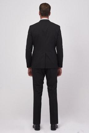 Altınyıldız Classics Erkek Siyah Slim Fit Takım Elbise 3