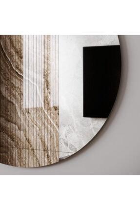 Camex Store 3 Parçalı Dekoratif Yuvarlak Şekilli Ayna 3