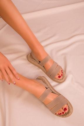 Soho Exclusive Vizon Kadın Sandalet 15098 1