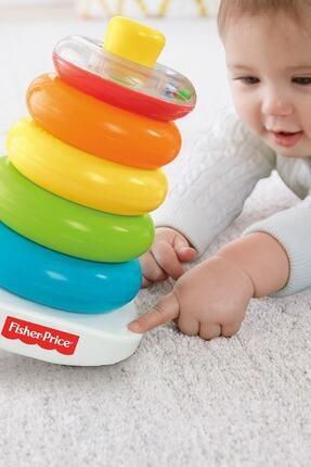 """Fisher Price Renkli Halkalar® & """"renkli Bloklar® Eğitici Ve Eğlenceli Oyuncak Seti 3"""