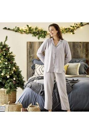 Bella Maison Bonne Nuit Gri Pijama Üstü 3