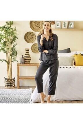 Bella Maison Spark Siyah Pijama Üstü 3