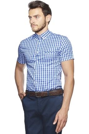 Altınyıldız Classics Tailored Slim Fit Kısa Kollu Gömlek 2