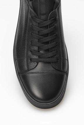 Alba Siyah Hakiki Deri Erkek Ayakkabı 4