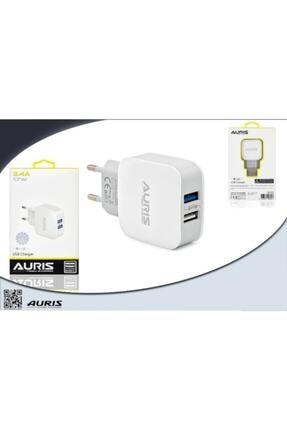 Auris Güvenlisepet 3.4 Amper Hızlı Şarj Başlığı Çift Usb Girişli 17 Watt Hızlı Şarj Başlık 1