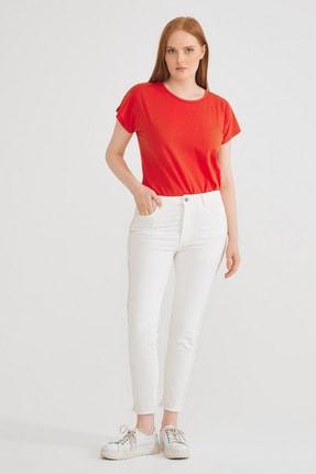 Kadın Kemik Yanı Şerit Detaylı Pantolon resmi