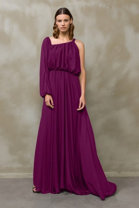 Kadın Murdum Tek Omuzlu Elbise 124M1377000