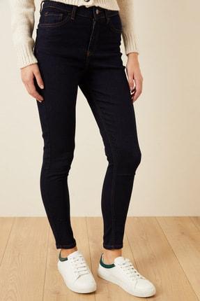 Love My Body Kadın Lacivert Cepli Skinny Jean Pantolon 153M1628000 4